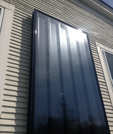 Solar Hot Water Panels, can be financed with the help of the Heat Saver Loan